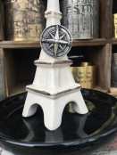 Ceramic Eiffel Tower Ring/Jewelry Holder