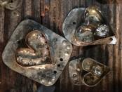 Rhinestone Resin Hearts