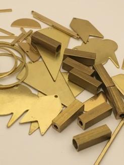 Custom Stamped Brass Pendants