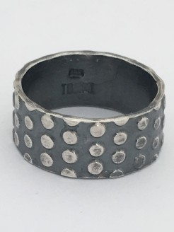 Sterling Dots Ring