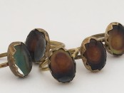 Brass Oval Mood Ring
