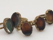 Brass Mood Ring