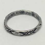 Tribal Stacker Ring